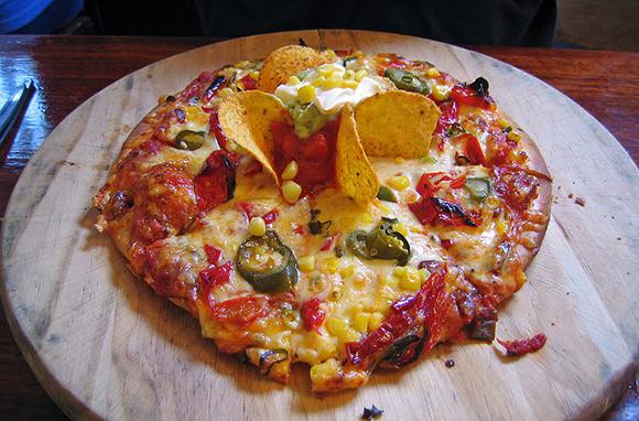 Mexican Fiesta Pan Pizza, Pizza Hut, Malaysia