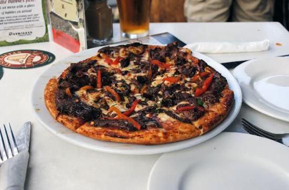 Coat of Arms Pizza, The Australian Heritage Hotel, Australia