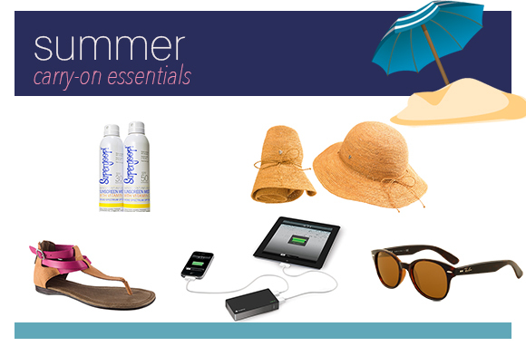 12 Must-Pack Essentials for Your Summer Carry-On