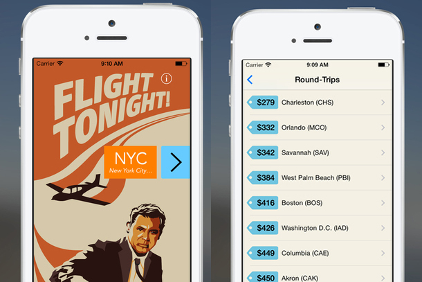 Flight Tonight App Lets You Book, Fly, and Arrive on the Same Day