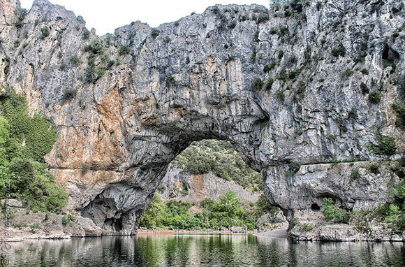 Decorated Cave of Pont d'Arc, France