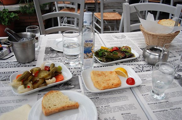 Meze in Greece