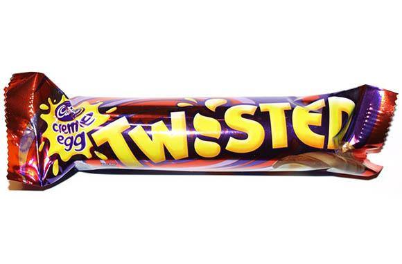Cadbury Creme Egg Twisted, U.K.