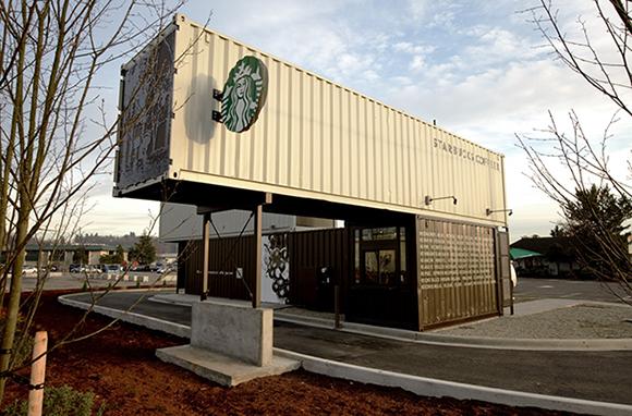 Starbucks, Tukwila, Washington