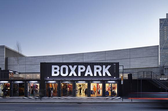 BOXPARK, Shoreditch, England