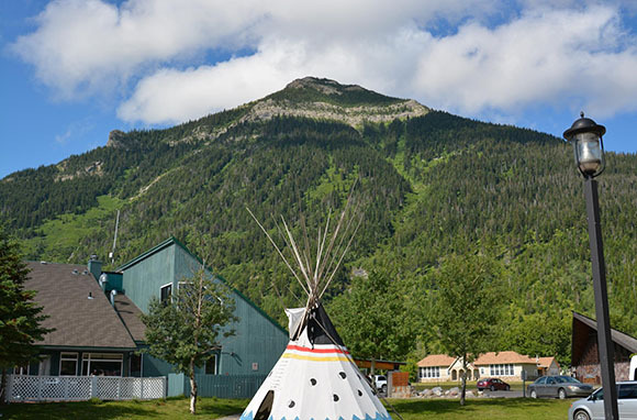 The Tipi, Waterton Lakes National Park, Alberta