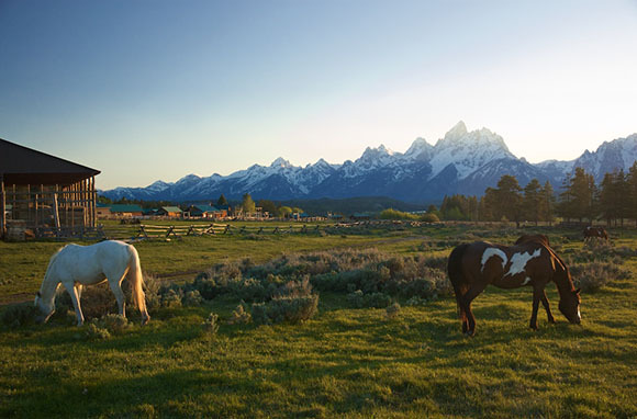 The Dude Ranch, Grand Teton National Park, Wyoming