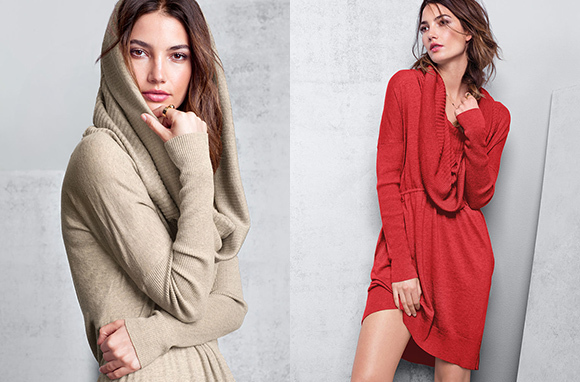 A Kiss of Cashmere Multi-Way Dress