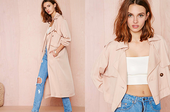 Double or Nothing Convertible Trench Coat