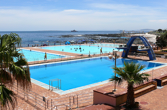 Sea Point Swimming Pool, Cape Town, South Africa