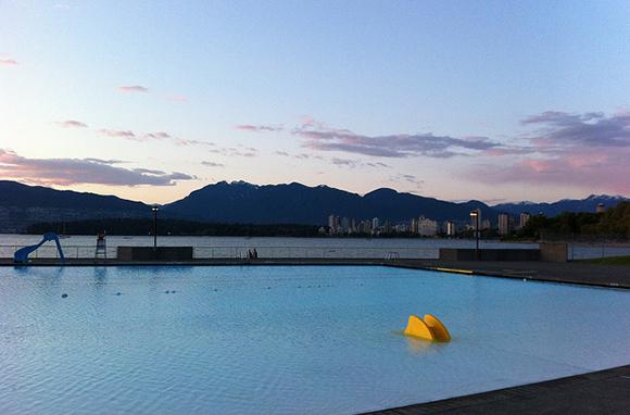 Kitsilano Pool, Vancouver, Canada