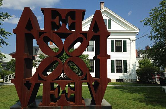 Farnsworth Art Museum Expresses Lots of Love