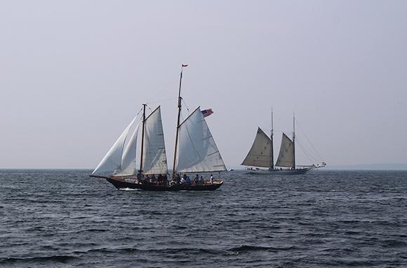 Schooners and Windjammers in Penobscot Bay