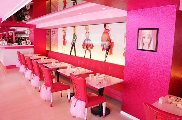Barbie Cafe, Taipei, Taiwan