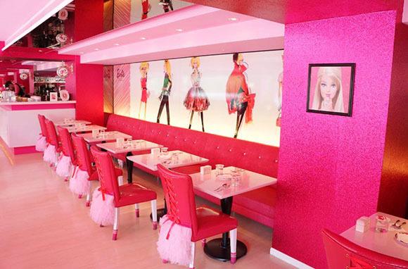 Barbie Cafe, Taipei, Taiwan