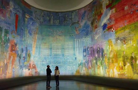 Musee d'Art Moderne, Paris, France