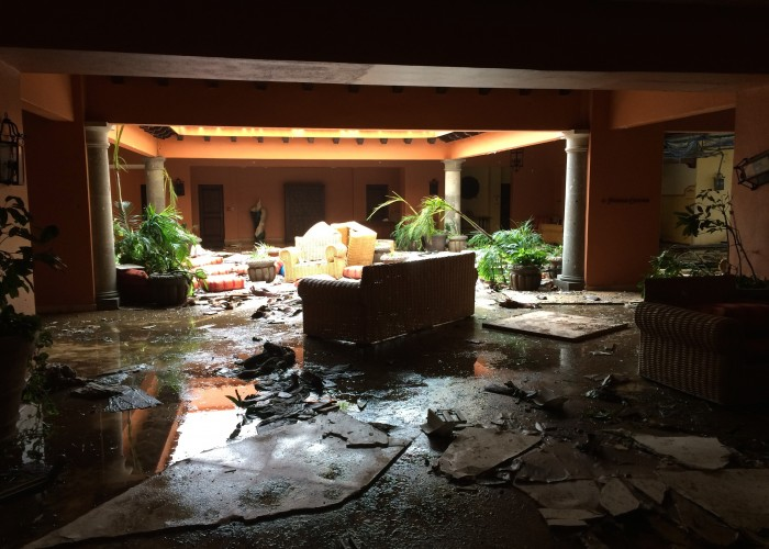 How to Survive a Hurricane in a Hotel Room