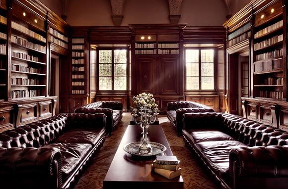Cozy Hotel Libraries