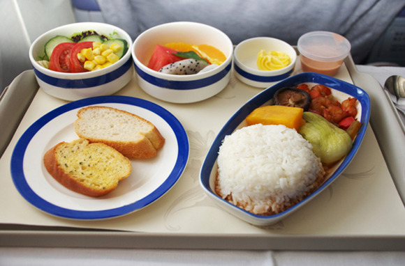 Order Special Meals for the Plane