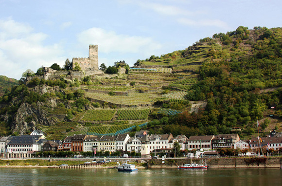 Rhine, Main, and Danube Rivers, Europe