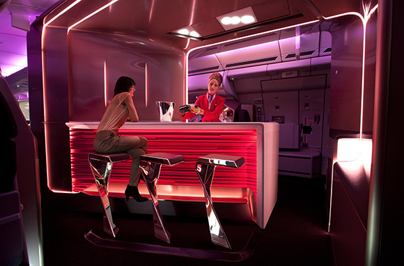 Virgin Atlantic: In-Flight Bars
