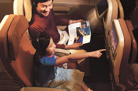 Singapore Airlines: 3-D Games and Learning Apps