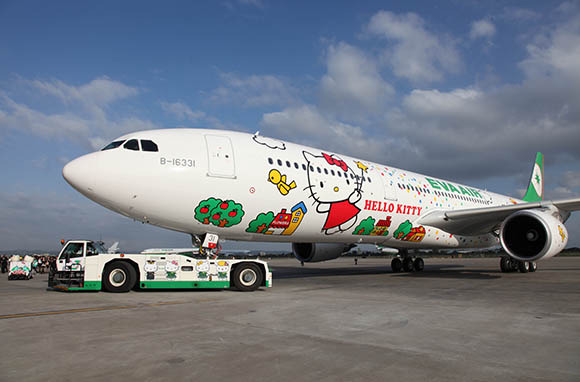 EVA Airways: Hello Kitty Everything