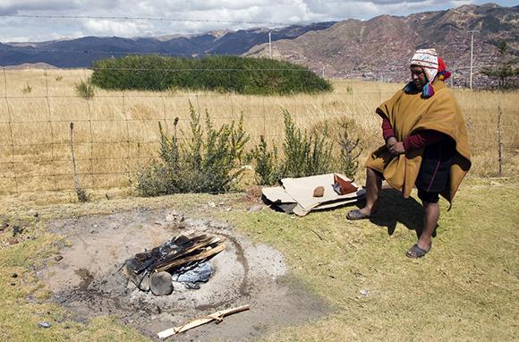 Underground Cooking in Peru
