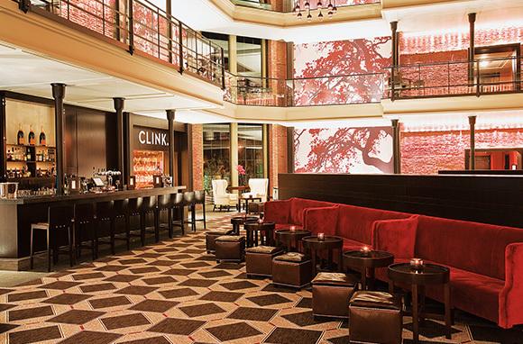 Lavish Hotel Lobbies
