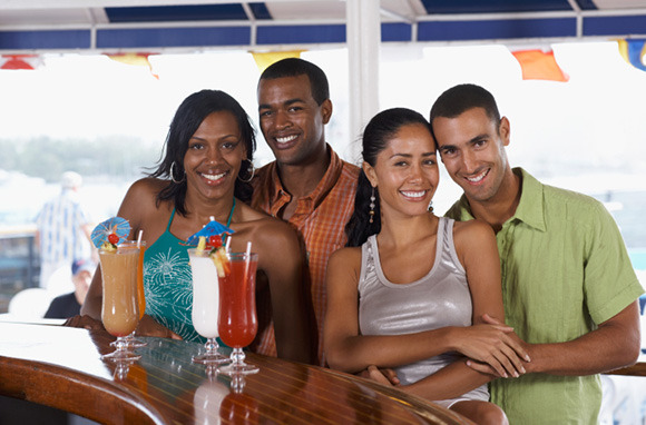 Attend the Captain's Party on a Cruise Ship