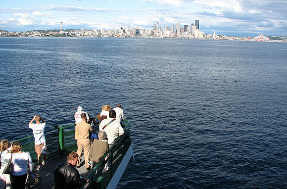 Bremerton Ferry, Seattle, Washington