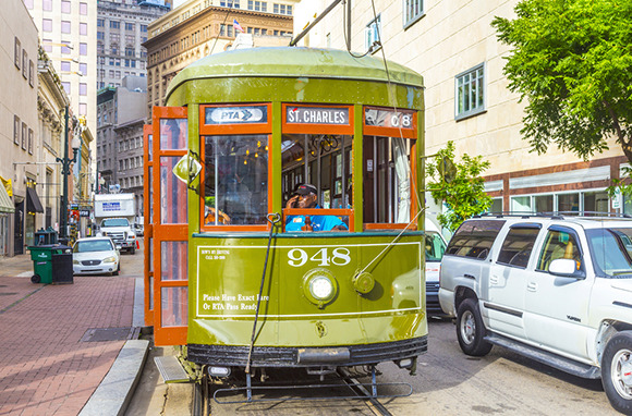 St. Charles Streetcar, New Orleans, Louisiana