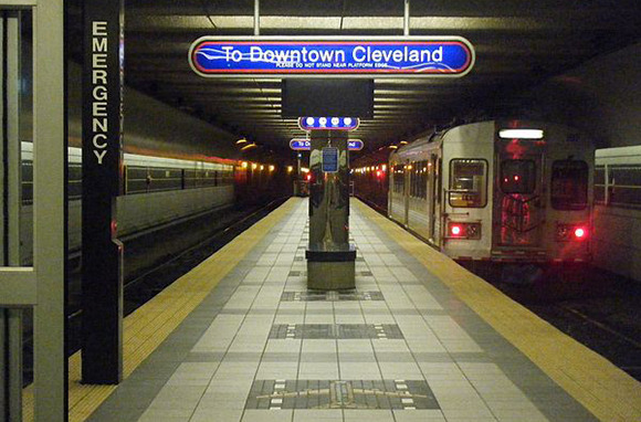 RTA Red Line, Cleveland, Ohio