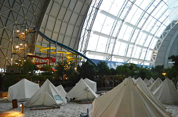 Spend a Night in an Indoor Water Park