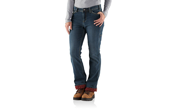 Carhartt Fleece-Lined Jeans