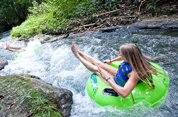 River Tubing, Jamaica
