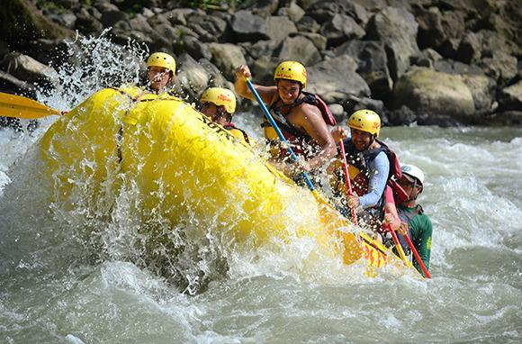 Whitewater Rafting, Costa Rica