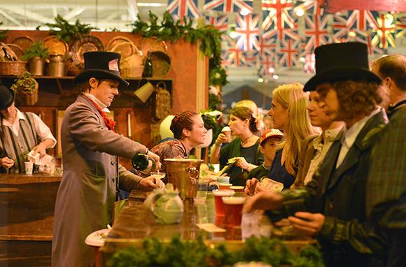 Great Dickens Christmas Fair, San Francisco, California