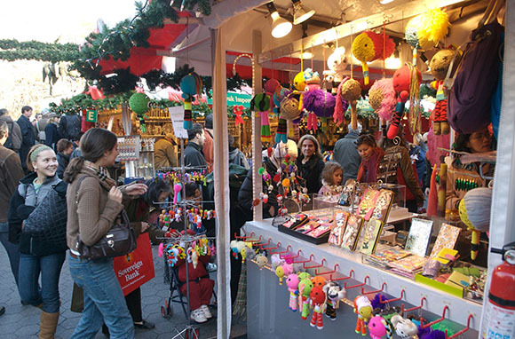 Union Square Holiday Market, New York City, New York