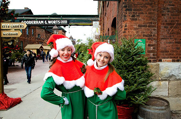 Toronto Christmas Market, Distillery Historic District, Toronto, Canada
