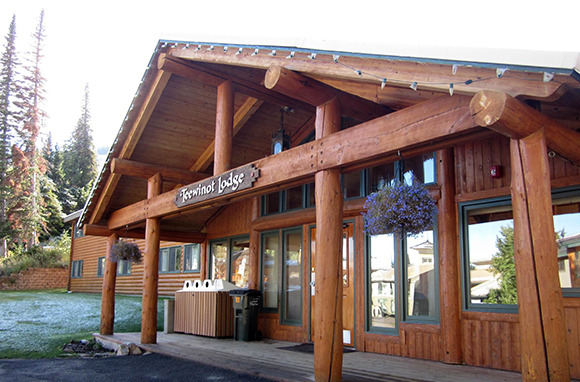 Teewinot Lodge at Grand Targhee Resort, Alta, Wyoming