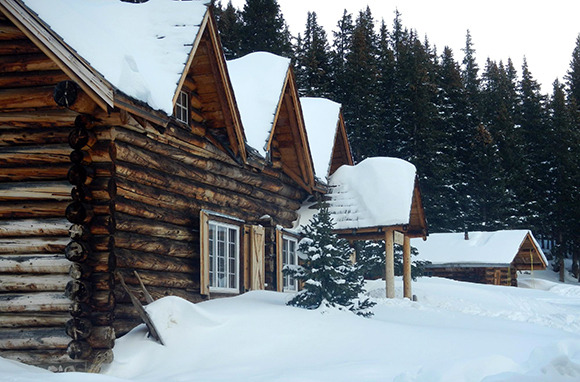 Skoki Lodge, Lake Louise, Alberta, Canada