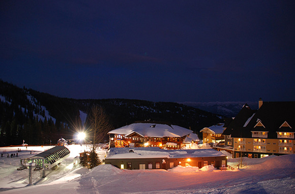 Selkirk Lodge at Schweitzer Mountain Resort, Sandpoint, Idaho