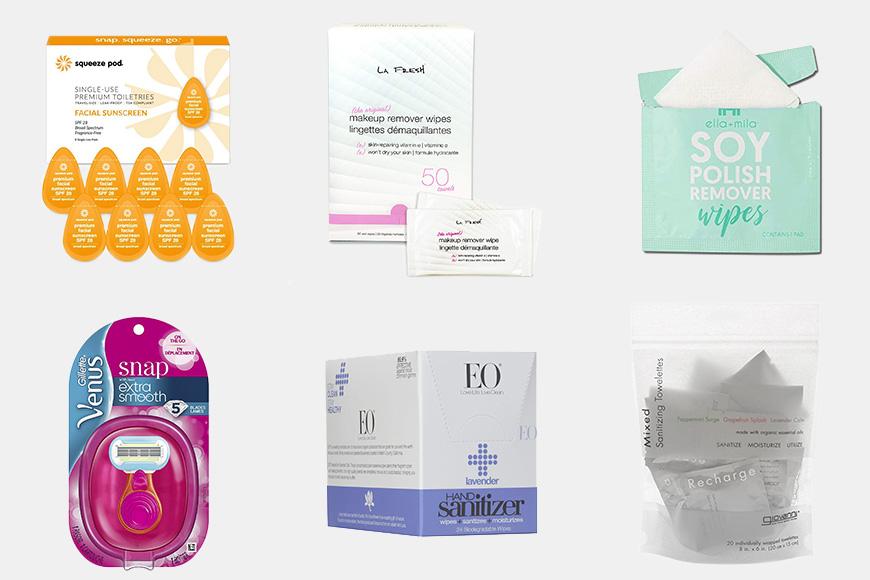mini toiletries products