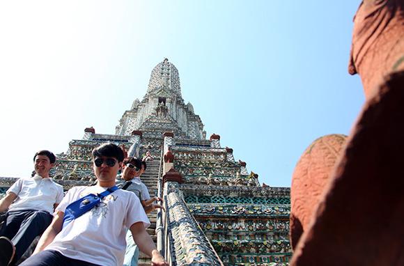 Climb a Temple