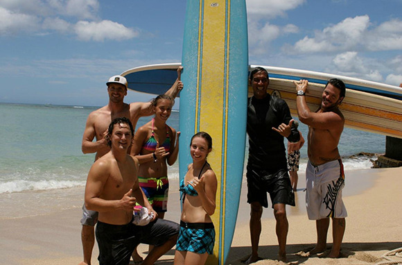 Stronger, Cooler, Tanner: Surf Fitness Camp in Hawaii