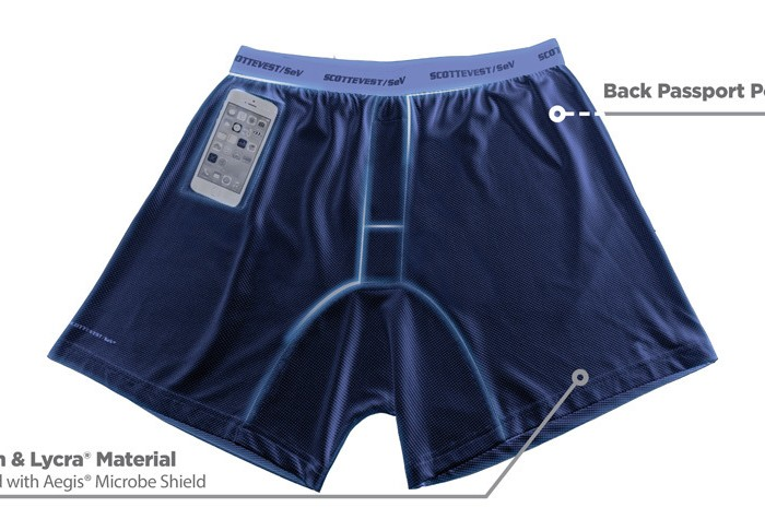 Smarter Travel Pick of the Day: SCOTTeVEST Travel Boxers