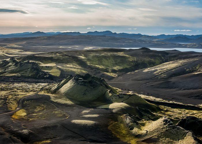 Laki volcano chain Lakagigar, Iceland