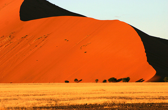 Sossusvlei Sand Dunes, Namibia, Africa
