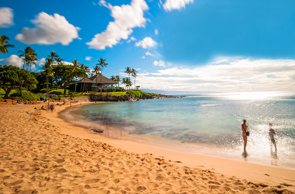 Ka'anapali Beach, Maui, Hawaii